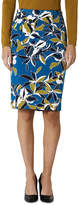 David Lawrence Isola Floral Pencil Skirt