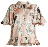 Roksanda Rosler Floral-print Double-georgette Shirt