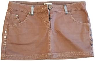 Pinko Brown Denim - Jeans Skirt for Women