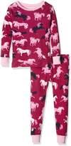 Hatley Girls' Printed Pajama Set