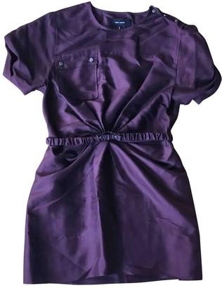 Isabel Marant Burgundy Silk Dress for Women