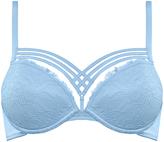 Marlies Dekkers Blue Rio Lace Dame de Paris Push-Up Bra - Plus Too