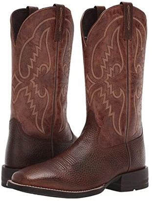 Ariat Round Pen (Copper Kettle/Dark Tan) Cowboy Boots
