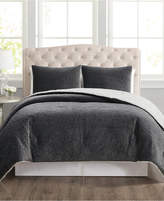 Pem America Truly Velvet 3-Pc. Reversible Full/Queen Comforter Set