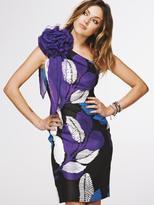 One Shoulder Corsage Dress
