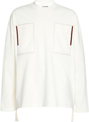 Jil Sander Double Pocket Cotton T-Shirt