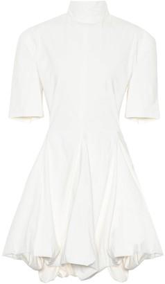 Jil Sander Stretch cotton-blend minidress
