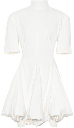 Jil Sander Stretch cotton-blend minidress