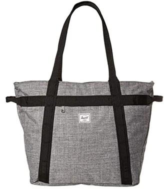 Herschel Alexander Zip (Black) Tote Handbags
