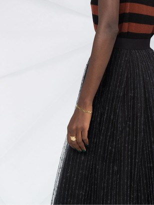 Fabiana Filippi Tulle Layered Midi Skirt