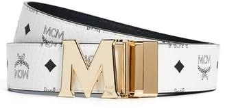 MCM Visetos Printed Reversible Belt