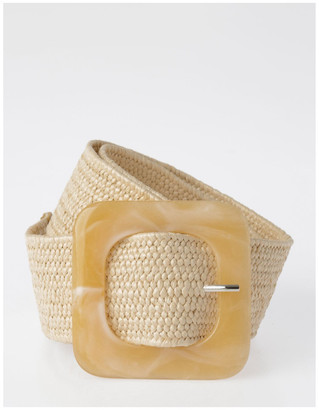 Miss Shop FBBT20647-031 Acrylic Buckle Belt