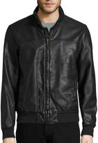 Dockers Faux Leather Bomber