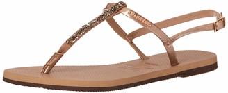 Havaianas Women's You Riviera Crystal Flip Flop Sandal