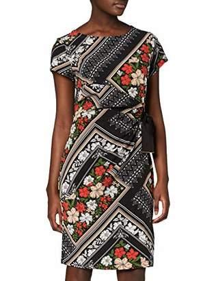 Yumi Floral Scarf Print Dress