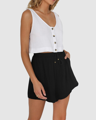 Lost in Lunar - Women's Black Shorts - Lucy Shorts - Size One Size, 10 at The Iconic