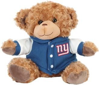 "New York Giants 10"" Varsity Plush Bear"