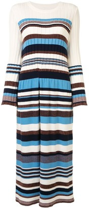Coohem Multi-Stripe Knitted Dress