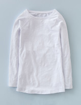 Boden Long Lightweight Baseball Tee
