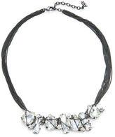 ABS by Allen Schwartz Stone Accented Multi-Row Necklace