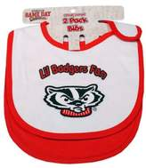 Bed Bath & Beyond University of Wisconsin 2-Pack Infant Bib