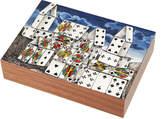 Fornasetti Wooden Citta di Carte Box