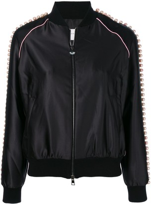 Chiara Ferragni Bomber Beads jacket