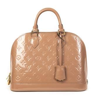 Louis Vuitton Alma Pink Patent leather Handbags
