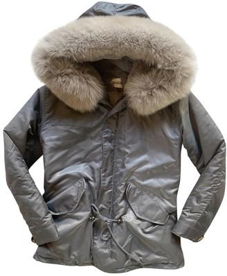 Ducie Grey Fox Coat for Women