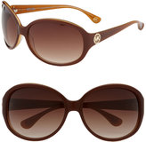 'Marsella' Oversized Round Sunglasses