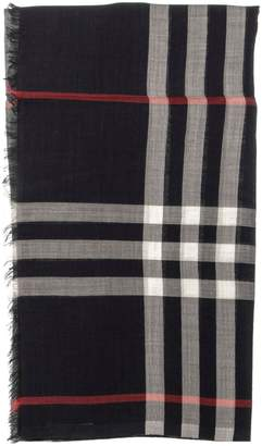 Burberry Checked Pattern Scarf