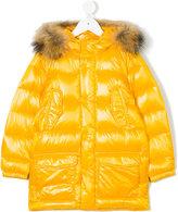 Freedomday Junior faux fur trimmed coat