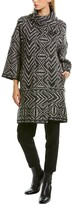 Thumbnail for your product : Piazza Sempione Wool, Cashmere, & Silk-Blend Coat
