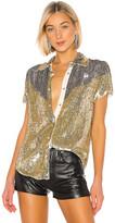 retrofete x REVOLVE Linda Top In Gold & Silver