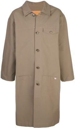 Martine Rose Mid-Length Raincoat