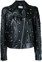 Yves Salomon studded biker jacket