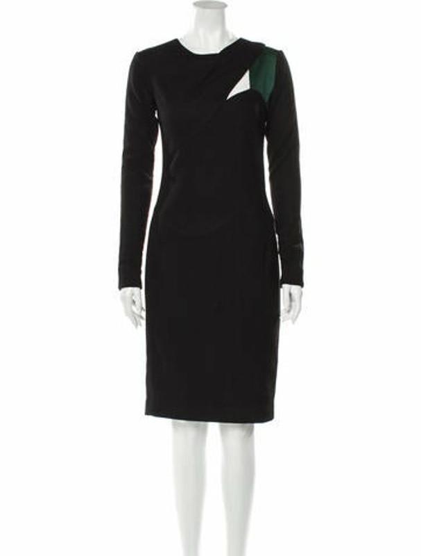 Narciso Rodriguez 2010 Midi Length Dress Wool