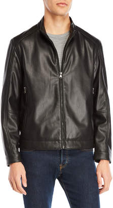 Andrew Marc Logan Faux Leather Jacket