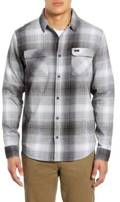 RVCA Muir Button-Up Flannel Shirt