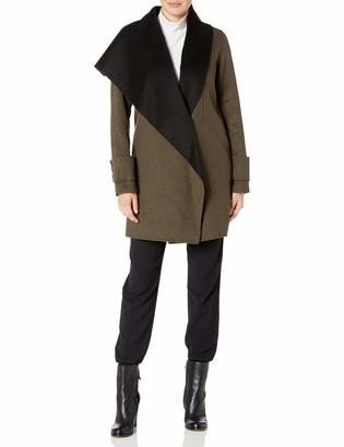Calvin Klein Women's Double Face Wool Coat