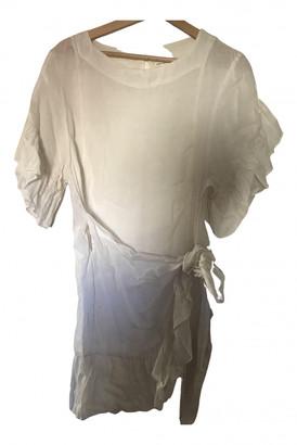 Etoile Isabel Marant White Linen Dresses