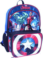 LICENSED PROPERTIES Avengers Backpack with Lunch Kit