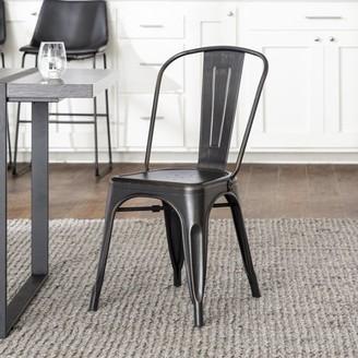 Quinn Metal Cafe Chair by River Street Designs