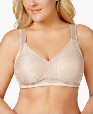 Playtex 18 Hour Undercover Wireless Jacquard Bra 4912, Online Only