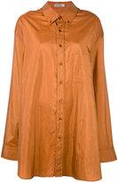 Jil Sander Claudia shirt - women - Silk/Polyamide - One Size