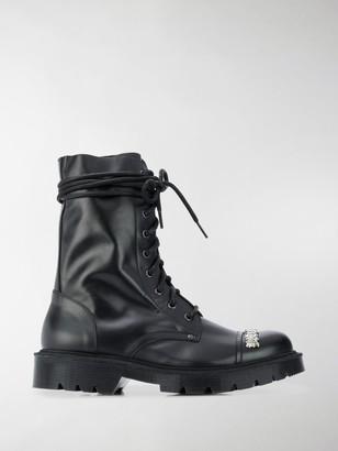 Vetements Combat ankle boots