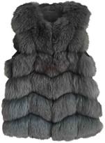 SAM. Rone Grey Fox Jacket for Women