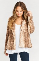 MUMU Fischer Fur Jacket ~ Faux-ie Fawn Fur