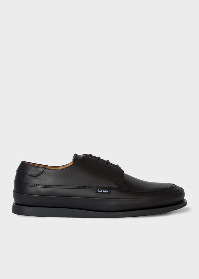 Paul Smith Men's Black Leather 'Broc' Shoes
