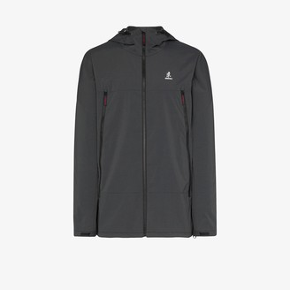 Gramicci black Antelope hooded jacket